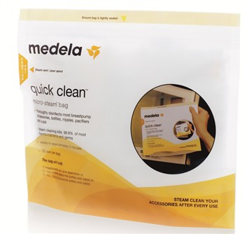 Medela Quick Clean poser